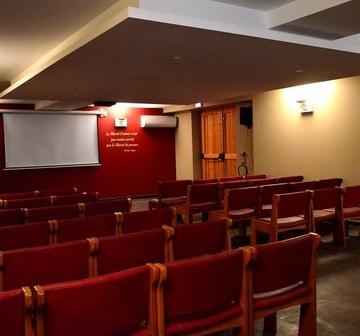 Salle de cérémonie funéraire