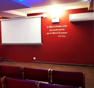 Salle d'hommage à Carmaux